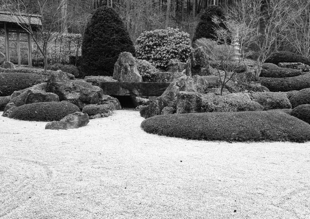 Der Zen-Garten am Benediktushof